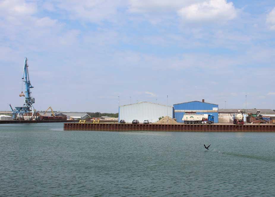 Link Standort im Hafen Lüneburg